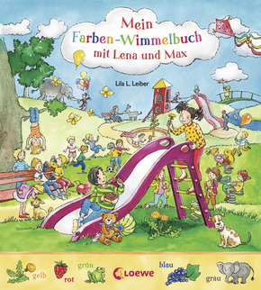 My Look-and-Discover-Book – Find the Colours with Lena and Max
