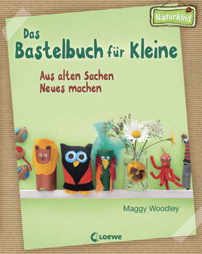 katze mit buch rezension das bastelbuch f r kleine aus alten sachen neues machen. Black Bedroom Furniture Sets. Home Design Ideas