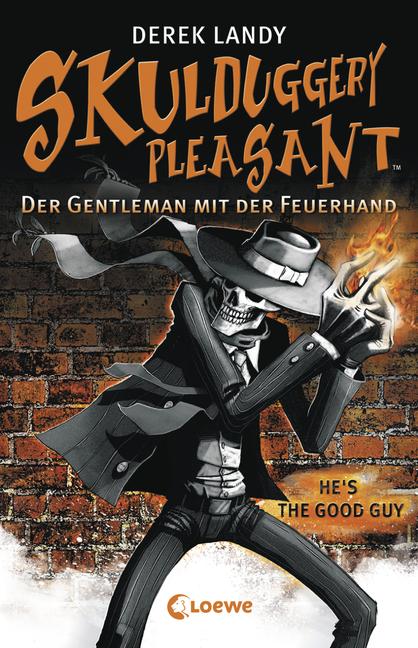 Skulduggery Pleasant 1 Cover