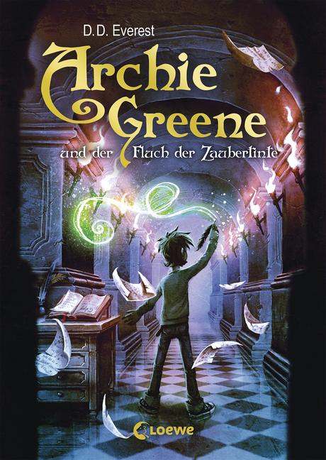 Archie Greene Und Der Fluch Der Zaubertinte Band 2 Von D