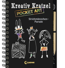 Kreativ-Kratzel Pocket Art: Strichmännchen-Parade