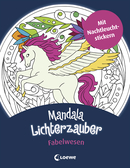 Mandala Light Magic: Mythical Creatures
