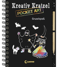 Creative Scratch Pocket Art: Spooky Fun