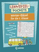 Learning Games (Pocket) - Word Puzzles for First Graders