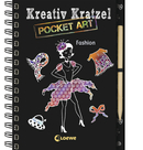 Kreativ-Kratzel Pocket Art: Fashion