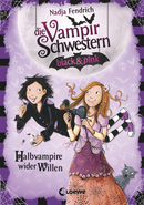 The Vampire Sisters black&pink - The Unwilling Half-Vampires (Vol. 1)