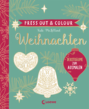 Press Out & Colour - Weihnachten