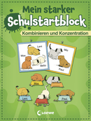 School Start Pad - Combination and Concentration