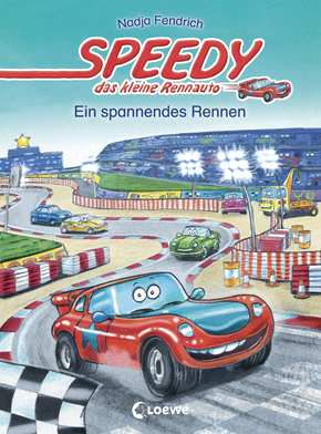 Speedy, the Little Racing Car: A Thrilling Race (Vol. 1)