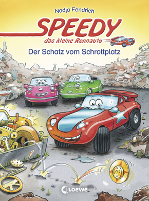 Speedy, the Little Racing Car: The Treasure of the Scrap Yard (Vol. 3)