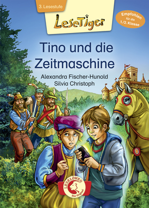 Reading Tiger: Tino and The Time Mashine