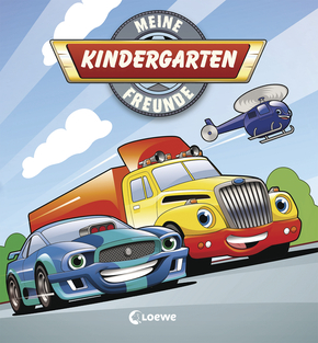 Kindergarten Friendship Album - Vehicles
