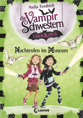 The Vampire Sisters black & pink - Night Owls in the Museum (Vol. 6)