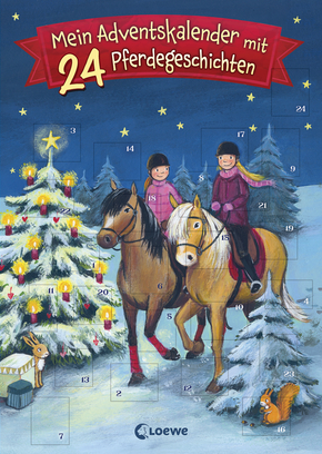 24 Reading Lions Advent Stories - Horse Stories