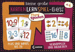 My Big Box of Clever Games - Plus and Minus from 1-20 & Double and Divide
