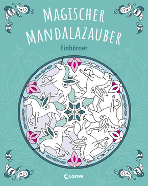 Enchanting Mandala Magic – Unicorns