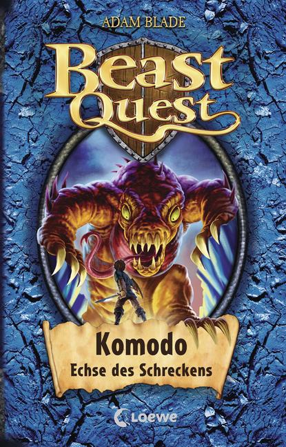 Cook Book Cover Quest : Beast quest komodo echse des schreckens band von