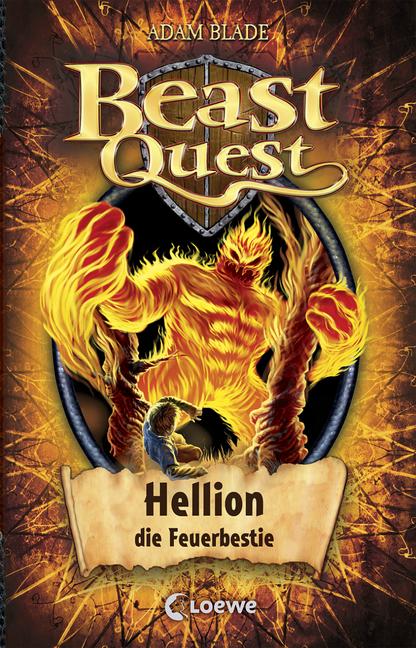beast quest  hellion die feuerbestie band 38 von adam