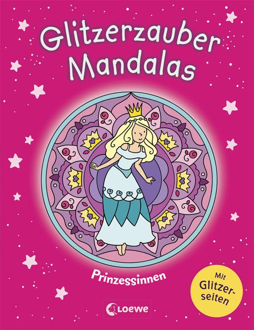 Malbücher für Kinder Glitzerzauber-Mandalas Bastel- & Kreativ-Bedarf für Kinder Prinzessinnen Malbuch für Mädchen ab 5 Jahre Buch 2019