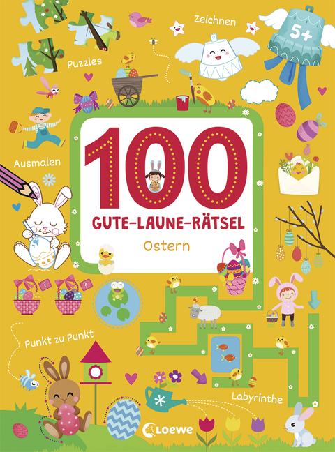 100 Gute Laune Rätsel Ostern