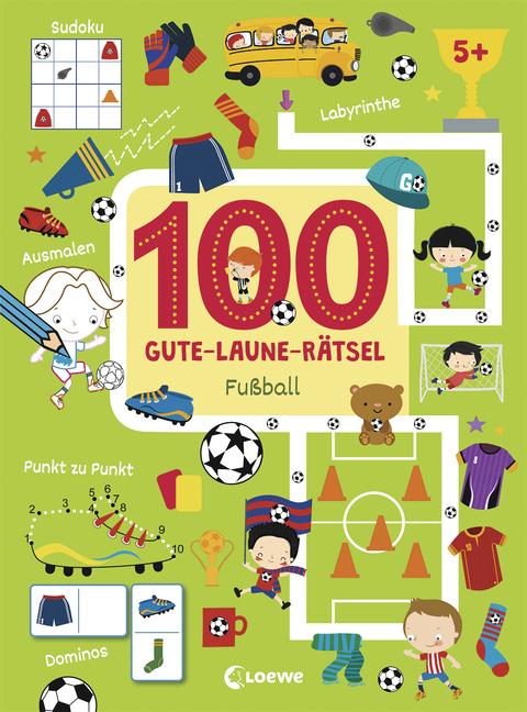 100 Gute Laune Rätsel Fußball