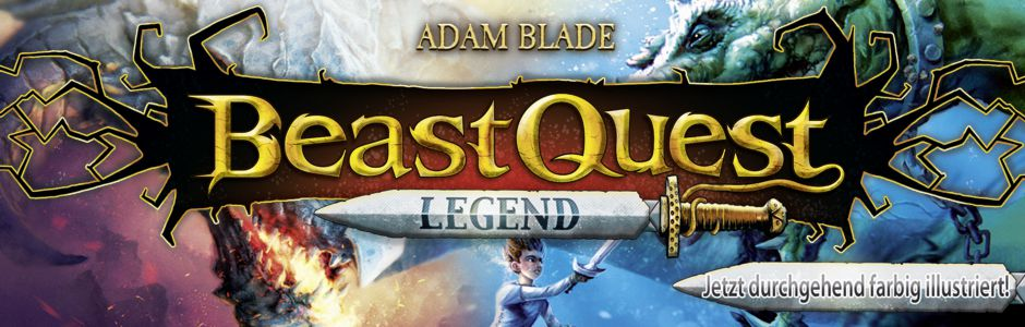 Adam Blade Beast Quest Legend
